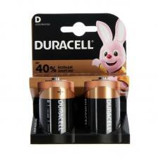 Батарейки Duracell Basic LR20 D BL2 Alkaline 1.5V US
