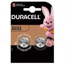 Батарейки Duracell CR2032 BL2 Lithium 3V CN