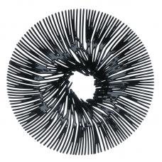 Блюдо для фруктов Koziol Anemone чёрное