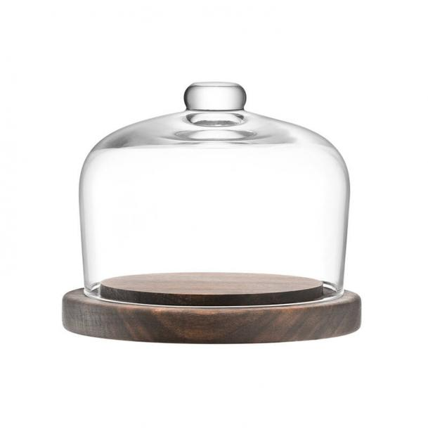 Блюдо со стеклянным куполом LSA International City d13 см