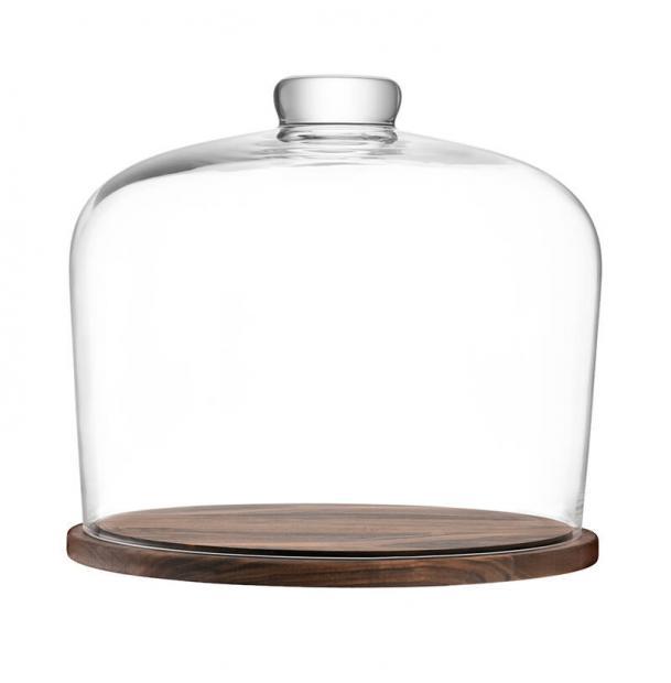Блюдо со стеклянным куполом LSA International City d32 см