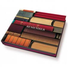Блок для записей с ручкой Remember For Bookworms
