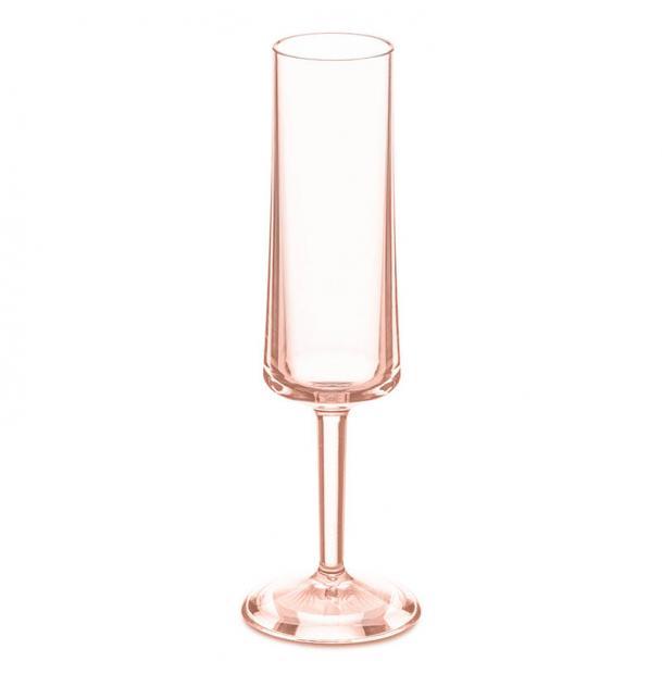 Бокал для шампанского Koziol Superglas Cheers no. 5 100 мл розовый