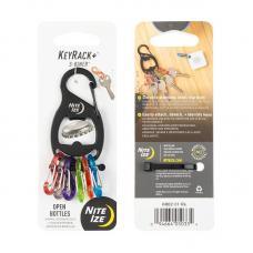 Брелок-открывашка Nite Ize S-Biner Key Rack KRB2-01-R6