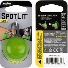 Брелок светодиодный NiteIze SpotLit, SLG17-06-02, светло-зеленый
