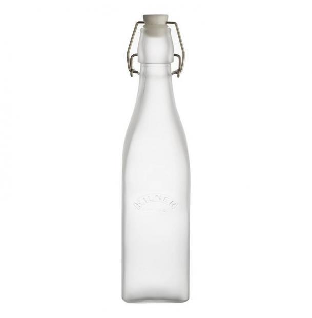 Бутылка Kilner Clip Top 0,55 Л Белая