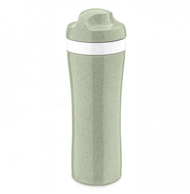 Бутылка Koziol OASE Organic 425 мл зелёная