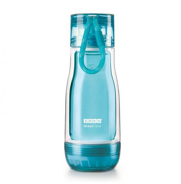 Бутылка Zoku 325 мл голубая