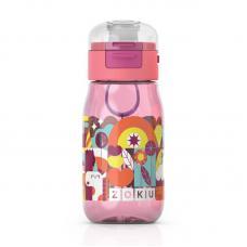 Бутылочка детская Zoku с крышкой 475 мл розовая
