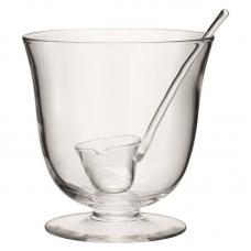 Чаша для пунша с половником LSA International Serve D25 см