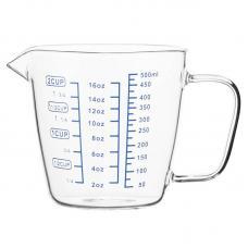 Чаша мерная Smart Solutions PY-500 0,5 л стеклянная