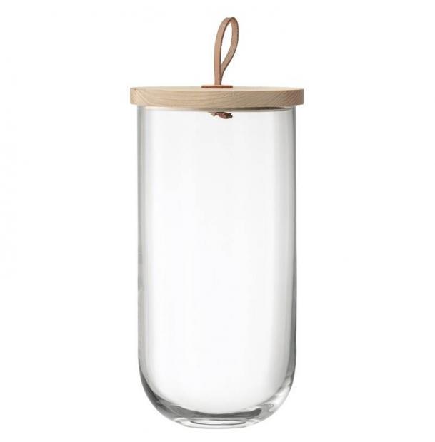 Чаша с деревянной крышкой из ясеня LSA International Ivalo 295 см