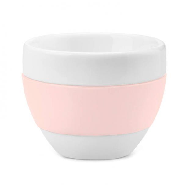 Чашка для капучино Koziol Aroma 100 мл розовая