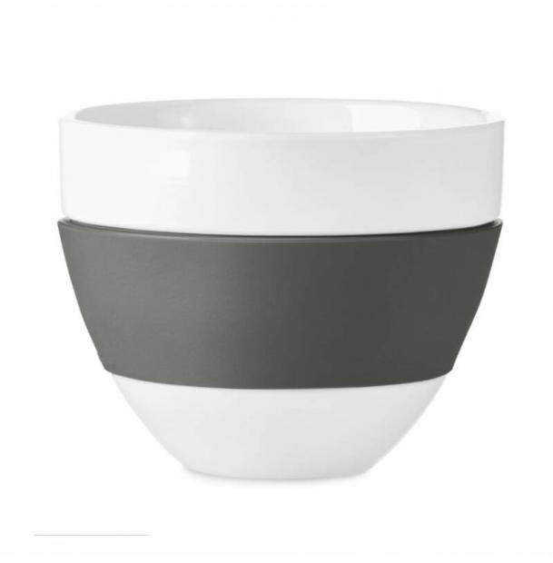 Чашка для латте Koziol Aroma 300 мл тёмно-серая
