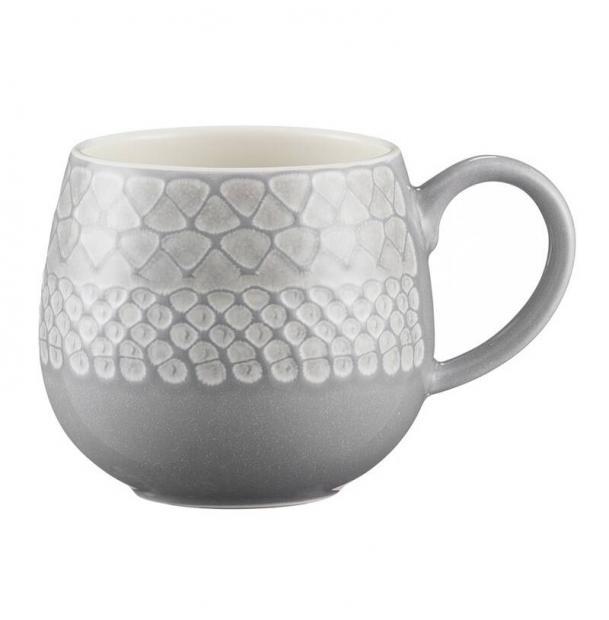 Чашка Mason Cash Impressions 350 мл серая
