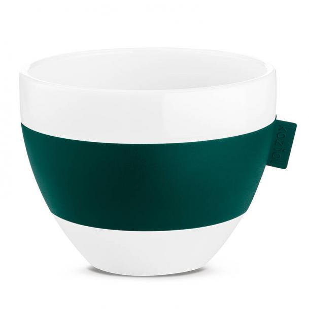 Чашка с термоэффектом Koziol Aroma M 270 мл зелёная