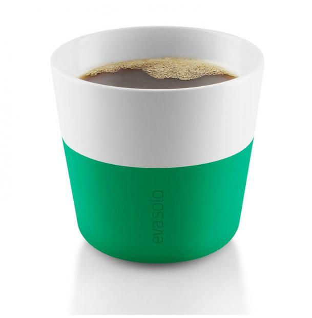 Чашки Для Лунго Eva Solo 2 Шт 230 Мл Ярко-Зеленая