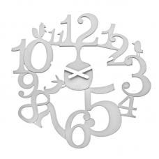 Часы настенные Koziol Pip белые