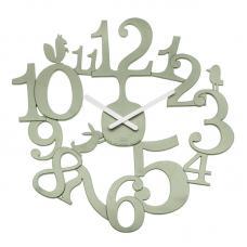 Часы настенные Koziol Pip эвкалиптовые