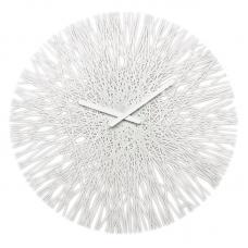 Часы настенные Koziol Silk белые