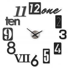 Часы Настенные Umbra Numbra Черные