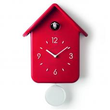 Часы с кукушкой Guzzini QQ красные