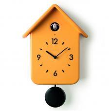 Часы с кукушкой Guzzini QQ жёлтые