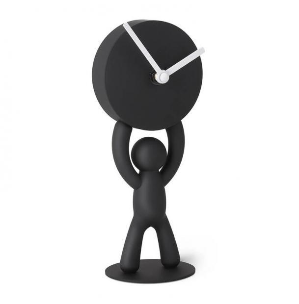 Часы Umbra Buddy Настольные Черные