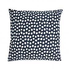 Чехол для подушки Tkano из хлопка с принтом Funky Dots темно-серый Cuts&Pieces 45х45