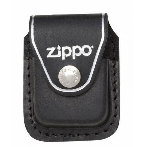 Чехол ZIPPO для зажигалки из натуральной кожи с клипом