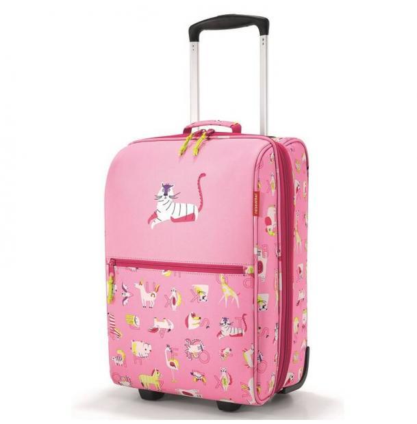 Чемодан детский Reisenthel Trolley XS ABC friends pink