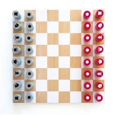 Деревянные шахматы Remember