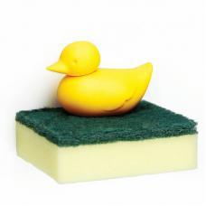 Держатель для губки Qualy Duck жёлтый