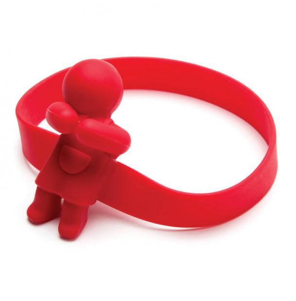 Держатель для ложек Monkey Business June spoon силиконовый, красный MB6770