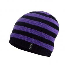 Детская водонепроницаемая шапка DexShell DH552 фиолетовая