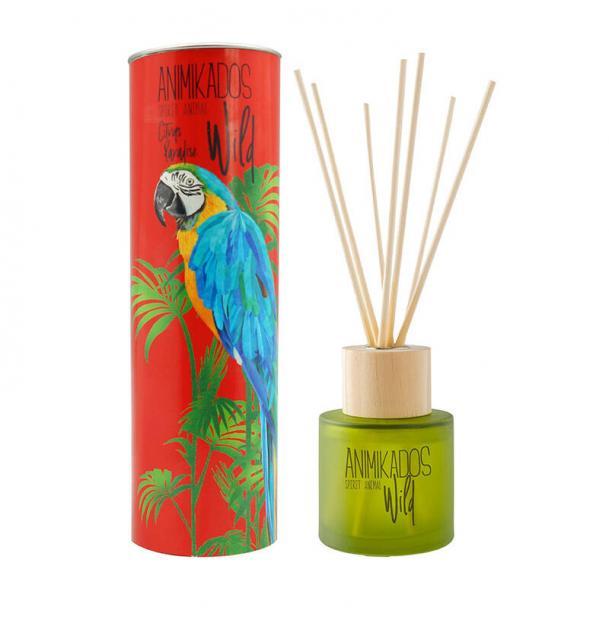 Диффузор ароматический Ambientair Parrot цитрусовый Wild 100 мл