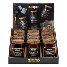 Дисплей с 12 ароматизированными свечами ZIPPO 3 вида по 4 штуки