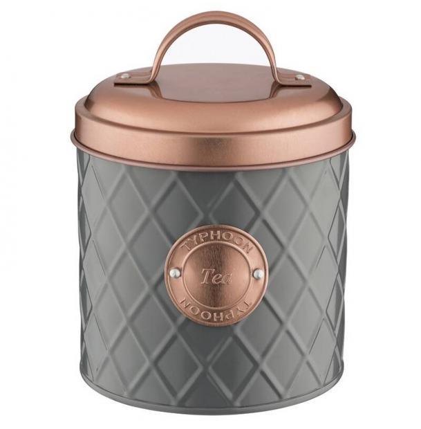Емкость для хранения чая Typhoon Copper Lid 1 л