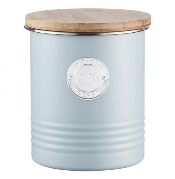 Емкость для хранения кофе Typhoon Living голубая 1 л