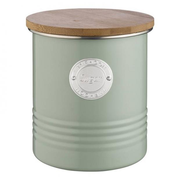 Емкость для хранения сахара Typhoon Living зеленая 1 л