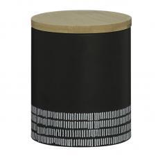 Емкость для хранения Typhoon Monochrome средняя черная  1 л