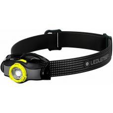Фонарь светодиодный налобный LED Lenser MH3, черно-желтый