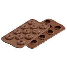 Форма для приготовления конфет Choco Crown 11х24 см силиконовая Silikomart 22.149.77.0065