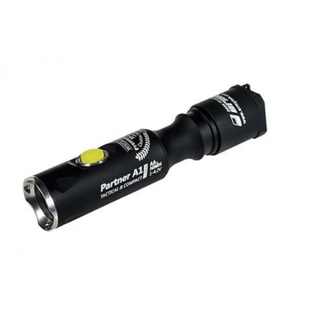Фонарь Armytek Partner A1 Pro v 3 XP-L теплый свет
