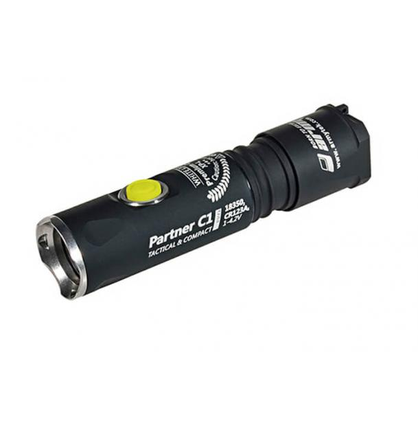 Фонарь Armytek Partner C1 Pro v3 XP-L теплый свет