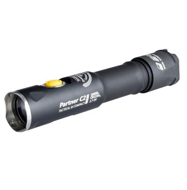 Фонарь Armytek Partner С2 Pro v3 XHP35 теплый свет