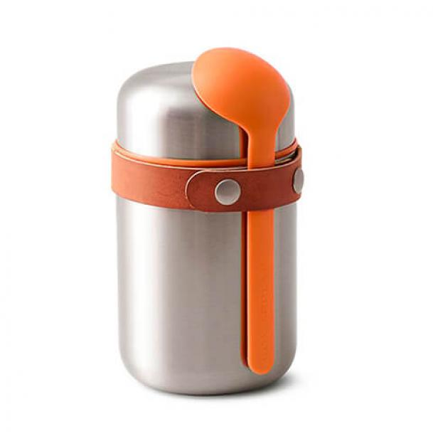 Термос для еды Black+Blum 0.4L Food Flask Stainless Steel Orange