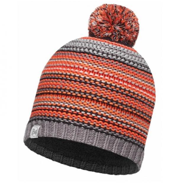 Шапка Buff Junior Knitted & Polar Hat Amity Grey Castlerock 113533.929.10.00