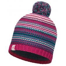 Шапка Buff Junior Knitted & Polar Hat Amity Pink Cerisse