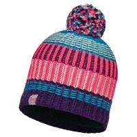 Шапка Buff Junior Knitted & Polar Hat Hops Plum